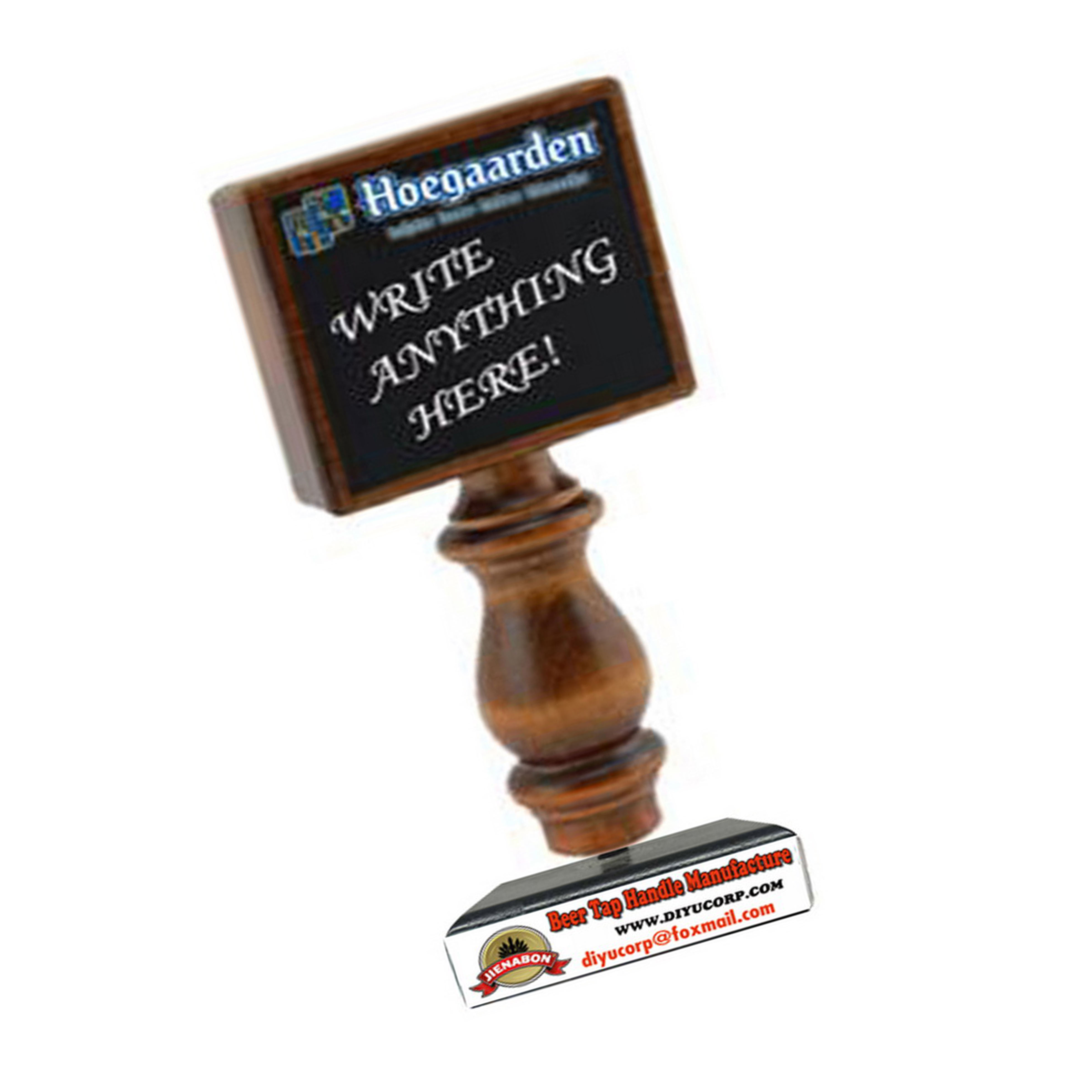 DY-Th12 individuelles logo brau equipmentwooden <span class=keywords><strong>tafel</strong></span> bier <span class=keywords><strong>tap</strong></span> griffe