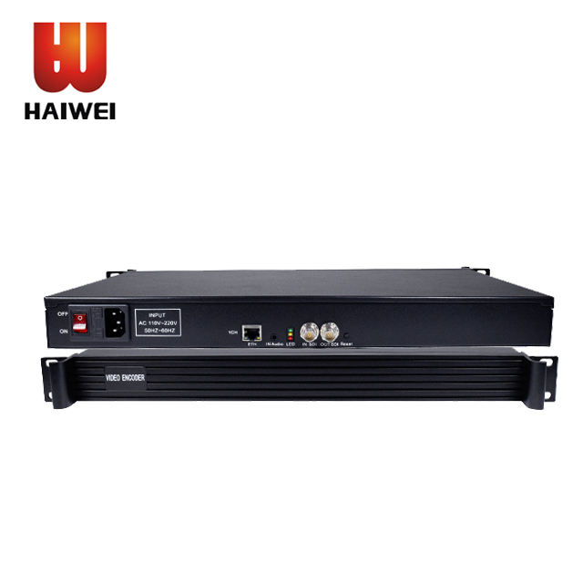 Haiwei Live Streaming single channel SDI iptv video encoder