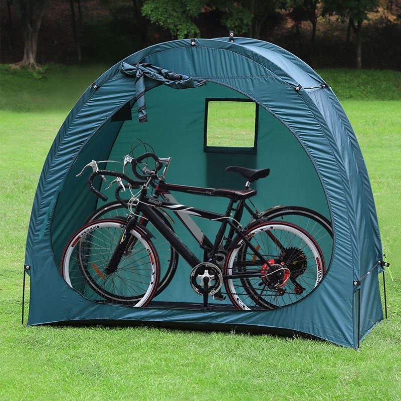 Outdoor Weatherproof Garage Shed Bicycle Tent Space Saver for Camping,Backyards,Tours - Bike Shed Portable Bike Storage Tent