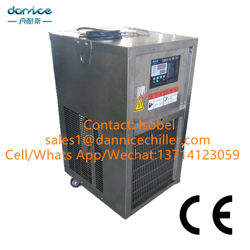 CE Approved 2P Stainless Steel Industrial Chiller Air Cooling System Chiller For Food & Beverage Machine