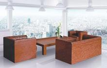red coral mosaic furniture