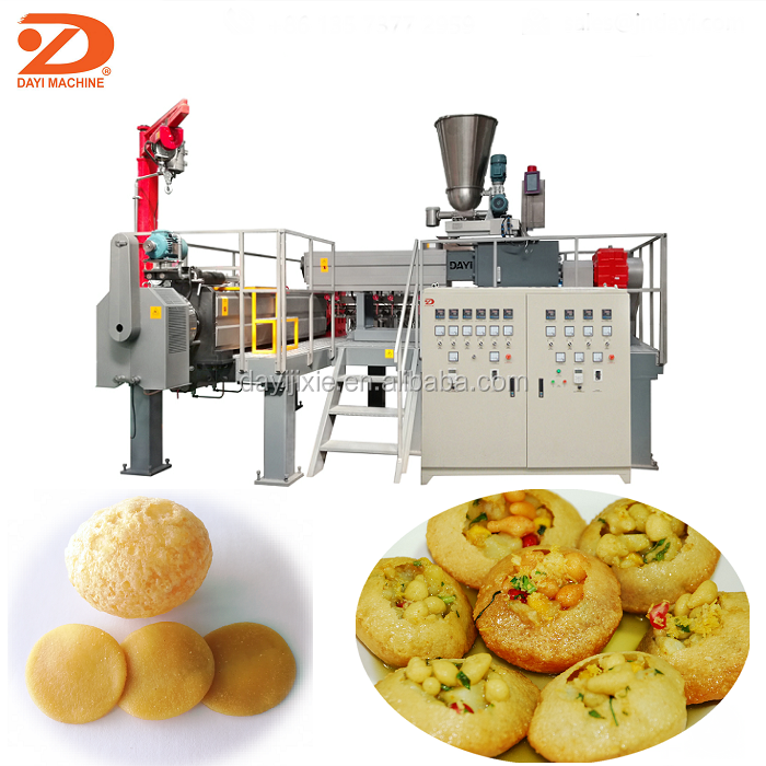 Dayi India 2D 3D Pani Puri snack and papad Making Machine