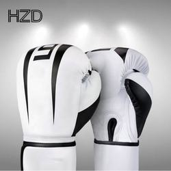 Wholesale custom professional 8 10 12 14 16oz boxing PU leather gloves for sale