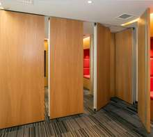 Kenya Conference room Acoustic Movable Partition classroom soundproof folding partition