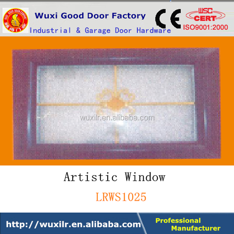 Factory Selling Industrial Door Customized Artistic ABS Glass Window