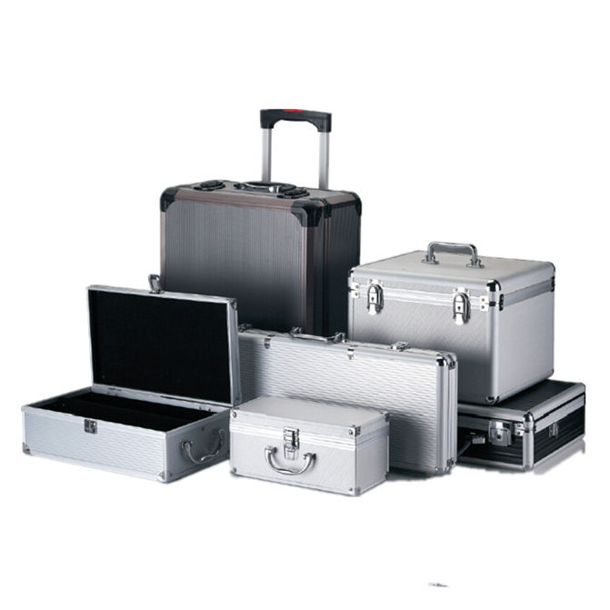 EVEREST APC012 High Quality Aluminum Trolley Case Equipment Wheel Case