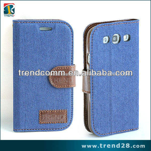 Jeans en bolivie portefeuille. s3 couverture pour samsung téléphone