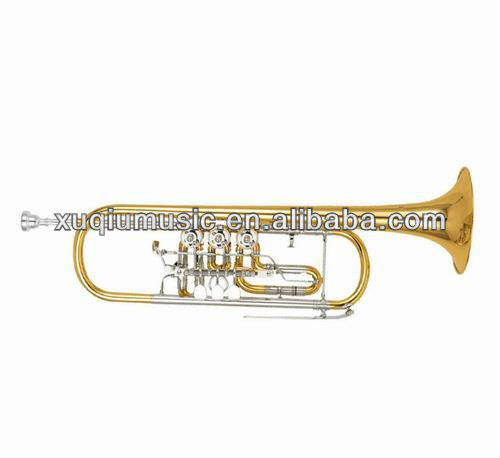 XTR026 Rotary Trumpet, Professional Trumpet cheap trumpets