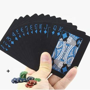 2020 Promotional Customized top quality paper playing cards poker set poker cards