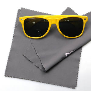 Sublimation soft guitar multicolor microfibre anti fog glasses cleaning cloth