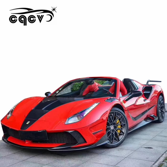 MS look body kit for Ferrari 488 car part