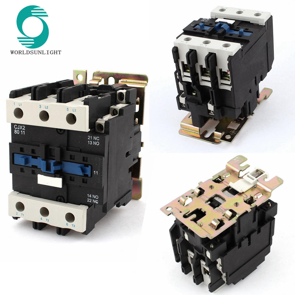 CJX2-D080 (LC1-D080) 80A three phase all types 220V 380V 400V 415V 500V 660V 690V 40A AC magnetic electric Contactor price