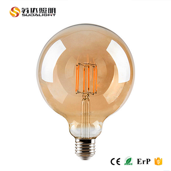 360 Degree 2W 4W 6W 8W High Quality Warm White Replacement LED Filament Bulbs Vintage Edison Lamp