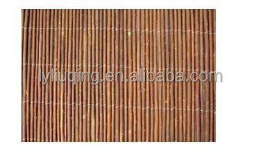 wholesale cheap darkbrown willow fence for garden