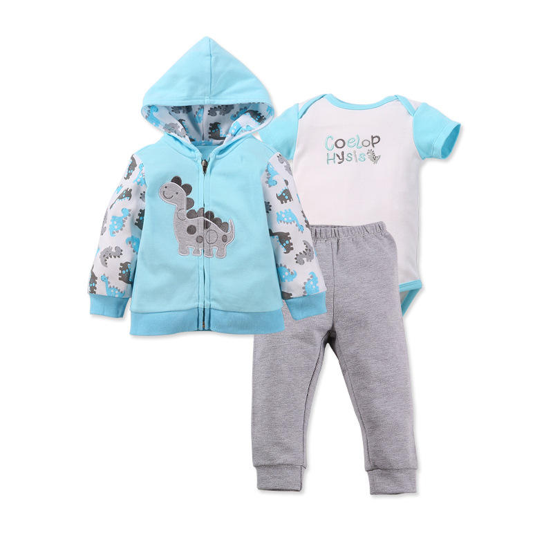 Wholesale boy baby clothes 100% cotton baby girls' clothing sets winter baby set clothing boys