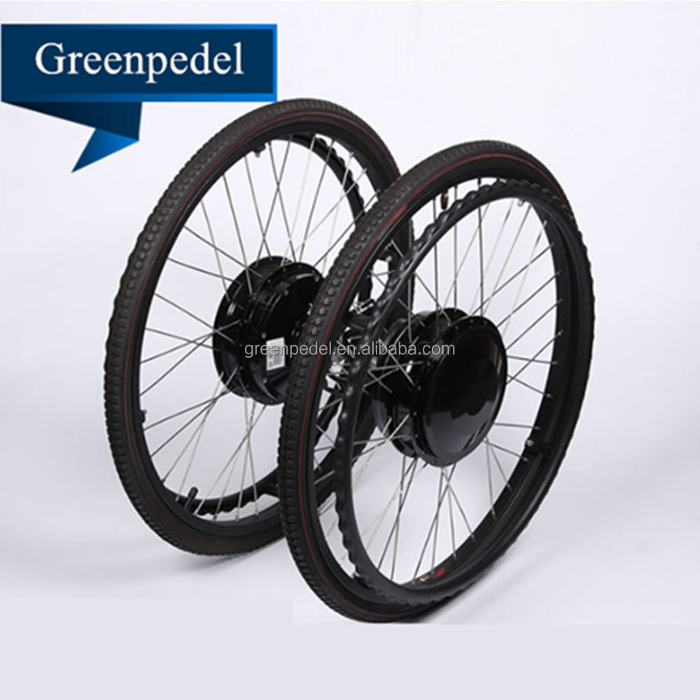 Greenpedel cheap brushed hub motor 24V 180W electric wheelchair motor