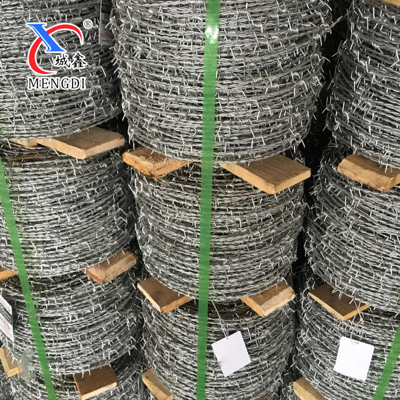 10 gauge cheap Galvanized Barbed wire coil (manufacture)