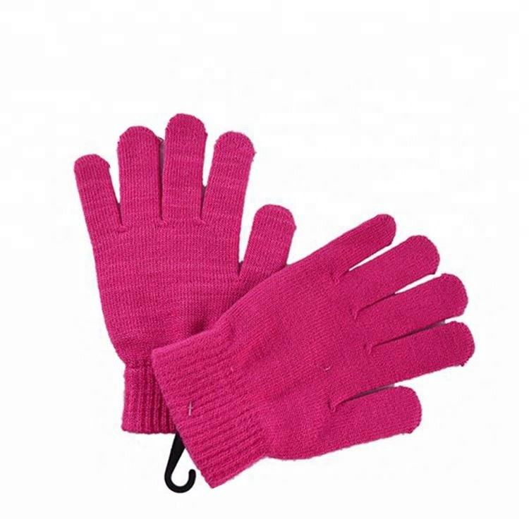 Comfortable [ Cotton Gloves ] Buy Gloves Newest Sale OEM Design Cotton Knit Long Fingerless Gloves Directly Sale