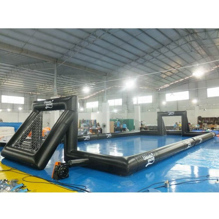 Outdoor Inflatable Soccer Field, Inflatable Football Pitch, Inflatable Football Arena / Court For Sale