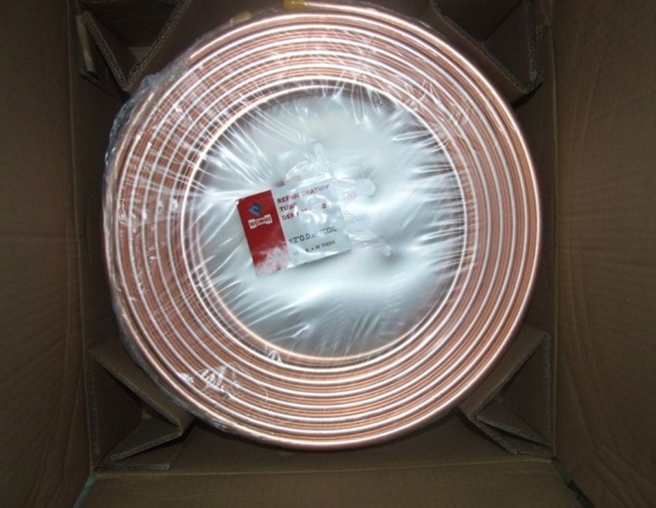 pancakge coil copper tube TP2 1/4,3/8,1/2,5/8