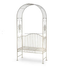 outdoor patio furniture decorative wrought iron garden arch metal rose arch garden arbors with seat