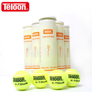 High quality Brand Teloon OEM Pressurized tennis ball For ITF approved