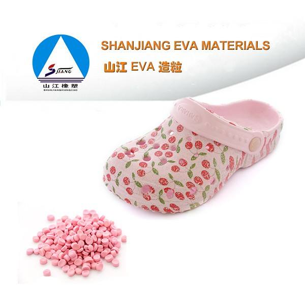 colorful custom eva granule slipper
