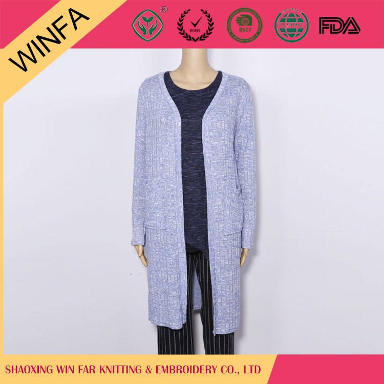 2016 yeni moda şık tasarım kadın uzun gri bayan ceket