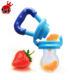 Baby Nipple Feeding Safe Milk Feeder For Baby Pacifier Bottles Nipple Fresh Fruit Food Teat baby Nibbler Feeder