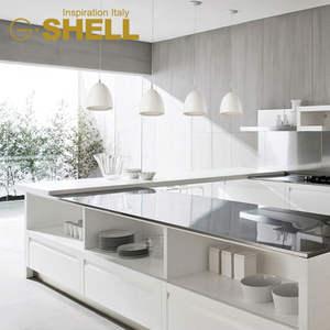 Ikea estilo pia da cozinha moderna luminária