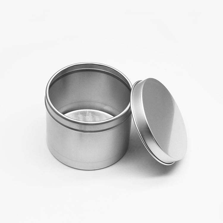 High quality 4oz round aluminum tin can custom small box for sale