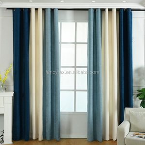 solid chenille curtain blackout living room valance bedroom drapes Chenille upholstery fabric polyester chenille curtain fabric