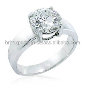 GIA-IGI Certified Diamond Ring, 14k/18k gold designer ring at cheapest price. Diamond jewellery in surat India.