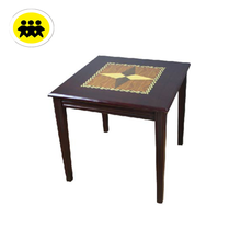 wooden cherry mahjong table
