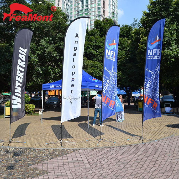 Promotional Custom Printed Outdoor Advertising Feather Flag,feather flag pole,swooper feather flag