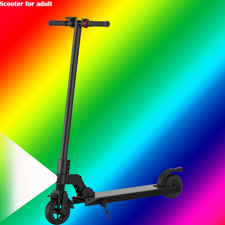 Scooter lectrique space kick disc brakes material folding handheld