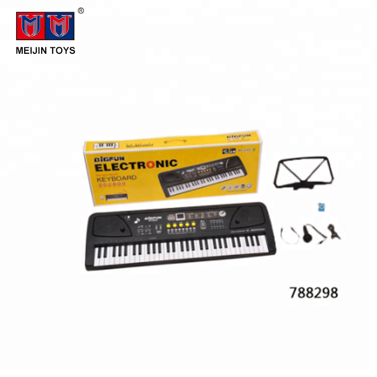 Hot selling toys children 61 keys electronic organ keyboard