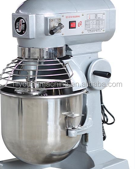 baking cakes equipment, industrial flour dough kneading machine, CE electric commercial bowl food mixer