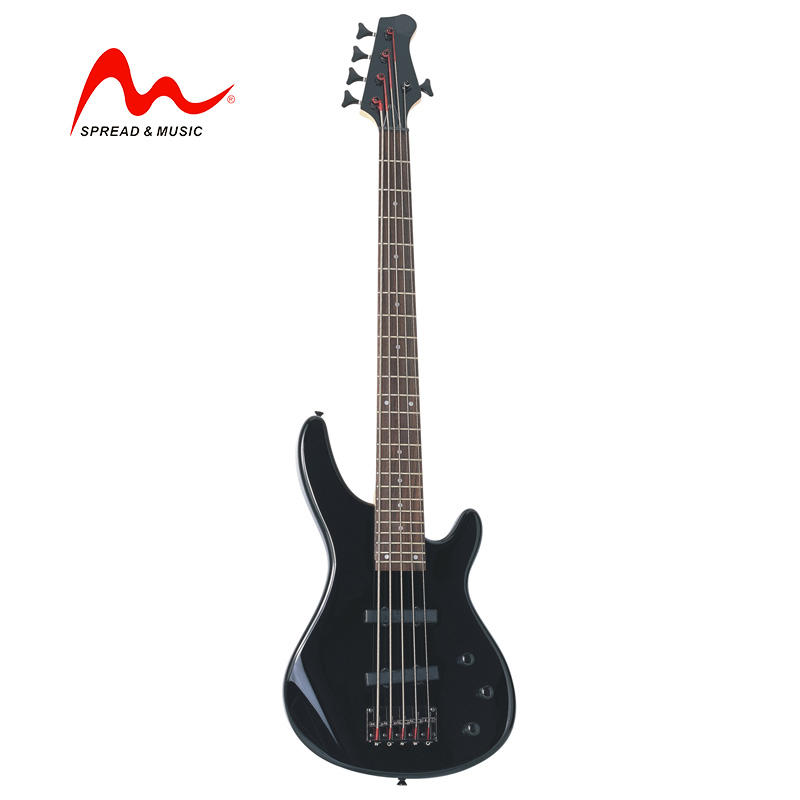 Spread Music electric bass EB-21 high quality 5 string bass guitar