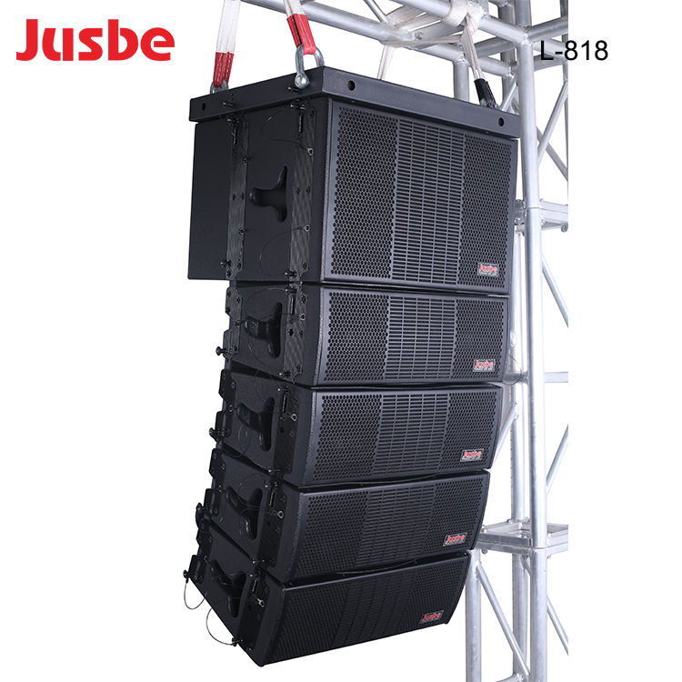 L-808 400W passive stage performance line array mini live speaker