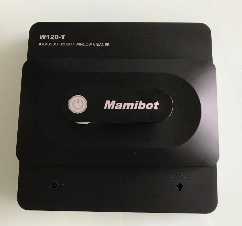 2019 mamibot W120-T new released innovative smart AI window cleaning robot, app control glass vacuum cleaner