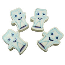 Creative White Teeth Eraser Toy for Dentist Giveaways
