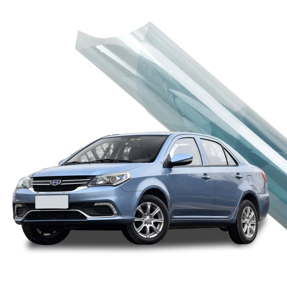 Nano ceramic tint KR7095 factory price PET 2ply car window solar tint film for protection and fading-avoided