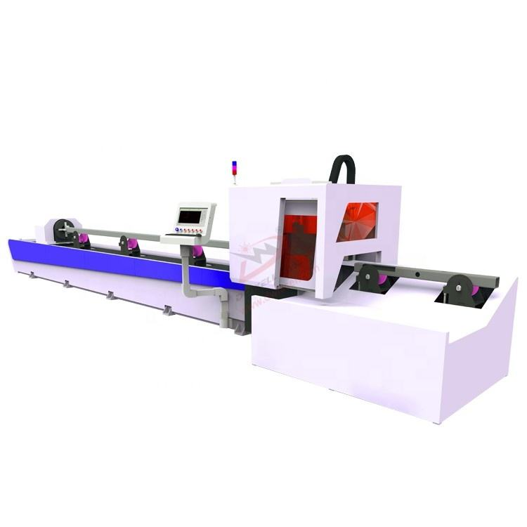 CNC Hsg Pipe Fiber Laser 1000 Watt Cutting Metal Machine