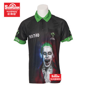 super quality 100% polyester new design with pocket dart shirt tops