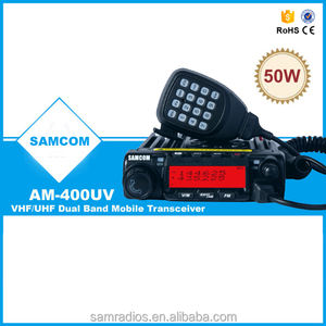 SAMCOM AM-400UV VHF 50 W/UHF 40W Radio de Taxi Mobile