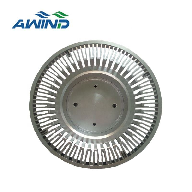 Sun flower sliver anodized heatsink for intelligent air condition cooler