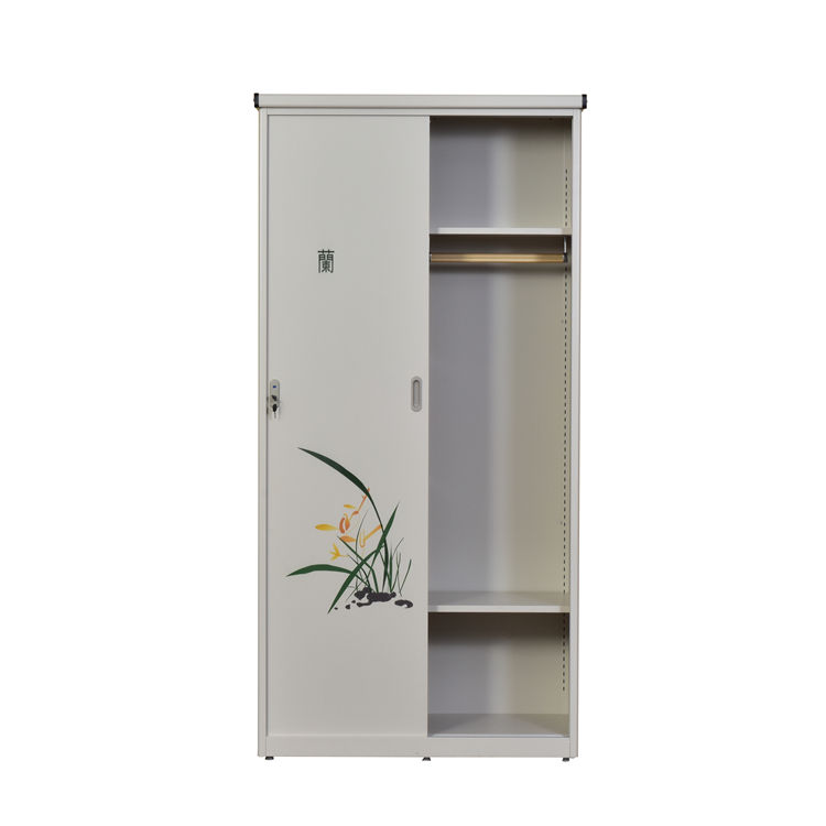 Steel Living Room Hinging Storage Cabinet with Adjustable Shelf