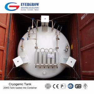 ASME or GB Standard Liquid Carbon Dioxide CO2 Tank
