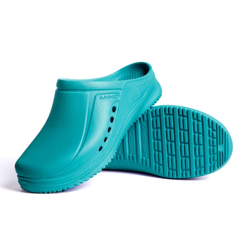 Hospital medical working shoes eva nurse clogs Hot selling breathable and antiskid shoes with holes